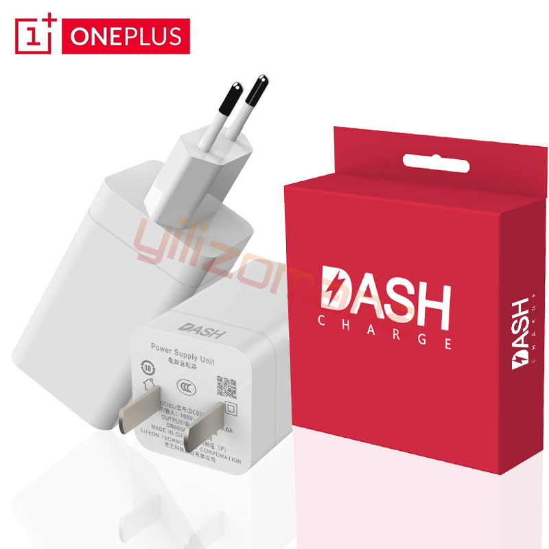 OnePlus 5 Original Dash Charger 5V/4A EU US Plug For OnePlus 1 2 3 3T 5 5T 6 6T Fast Charging Quick Charge Wall Power Adapter