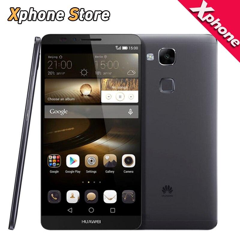 Original Huawei Ascend Mate 7 RAM 2GB ROM 16GB Octa Core 6 0 inch 4G LTE