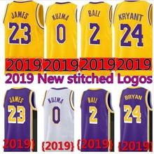 bf0045028f9 23 LeBron James Lakers Jersey 0 Kyle Kuzma Men Youth 2019 Los Angeles James  Lakers 2 Lonzo Ball 14 Brandon Ingram 24 Kobe Bryant