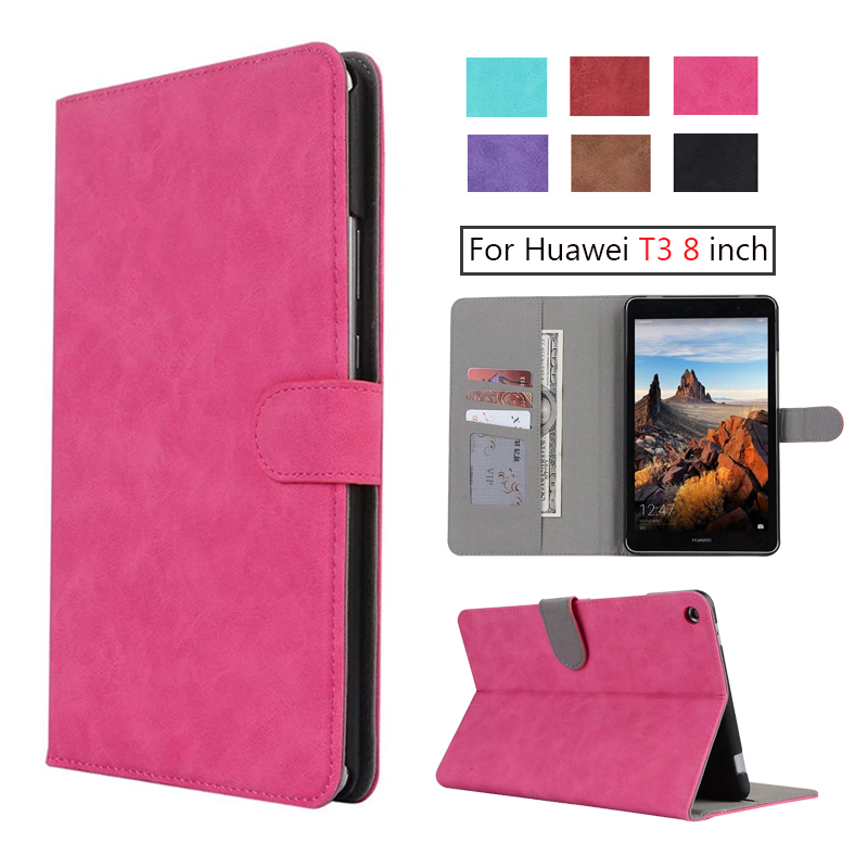 Luxury PU leather folio stand cover case for Huawei MediaPad T3 8.0 KOB-L09 KOB-W09 for 8'' Tablet PC for Honor Play Pad 2 8.0 mtb mountain bike road bicycle rear derailleur cnc aluminum alloy repair the modified components bicycle derailleur 15 15t page 2