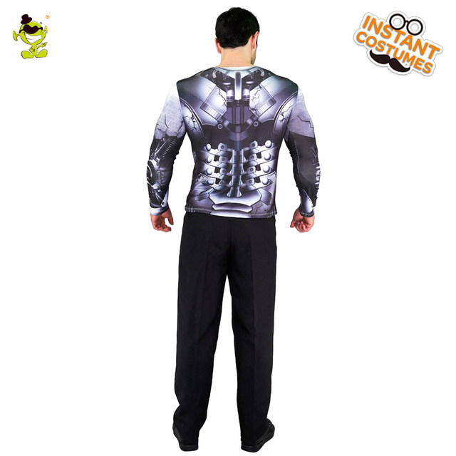 2018 Adult Menu0027s 3D Digital Printing T-Shirt Popular Robot Long Sleeve Clothes For Party Role Play Robot Costumes  sc 1 st  Aliexpress & Online Shop 2018 Adult Menu0027s 3D Digital Printing T-Shirt Popular ...