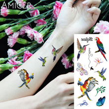 1 piece Fantasy Color Freedom bird Phoenix Hot Large animal Temporary Tattoo Waterproof Tattoo Sticker for women men