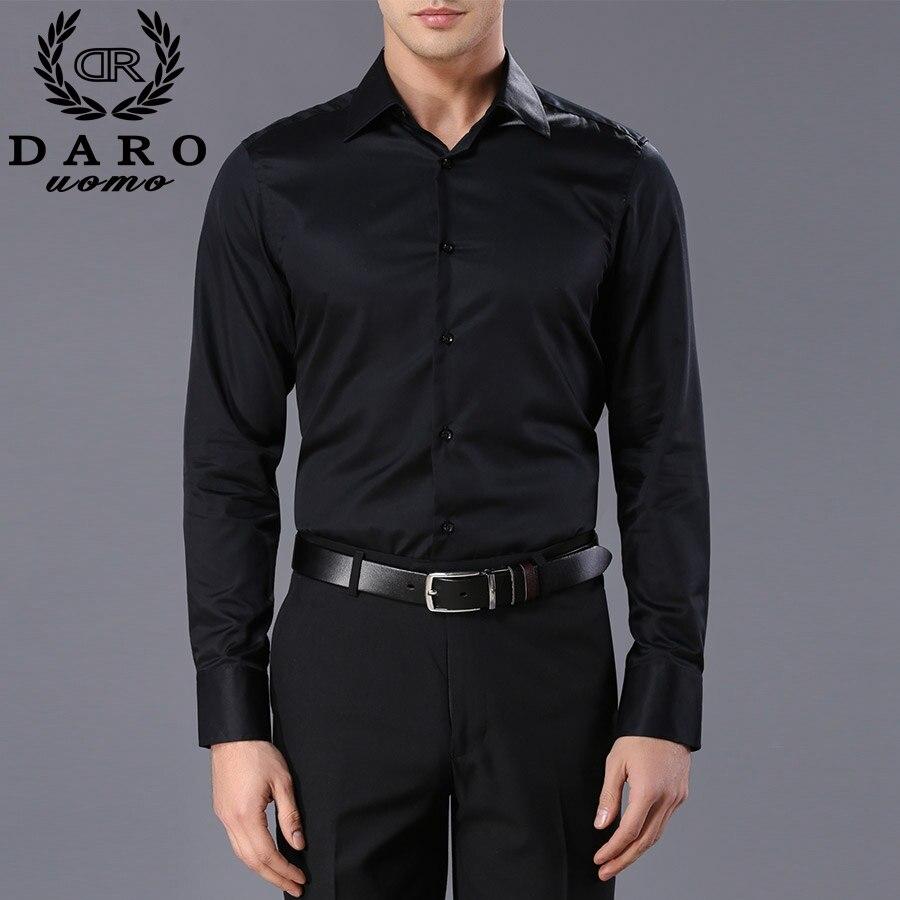 Custom Designer Mens Dress Shirts 2018 Fashion Mens Long Sleeve