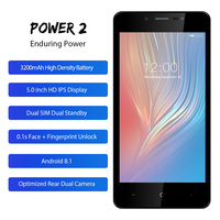 LEAGOO POWER 2 Mobile Phone 5 0 HD IPS RAM 2GB ROM 16GB Android 8 1