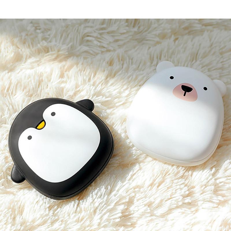 Poche Chauffe-mains Rechargeable Portatif Mini 5 v USB Chauffage Hiver Mignon Cadeau Chauffage Chauffe-Calentador la mano
