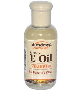 Rexall Sundown Naturals Vitamin E Oil, 70,000 IU, 2.5 fl oz mason natural vitamin d3 2000 iu softgels 120 ea