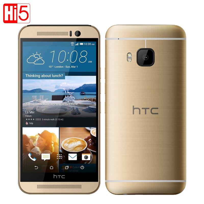 "Цена за Разблокирована htc one m9 мобильного телефона 5.0 ""Octa Core 4 Г LTE GPS WI FI NFC 3 Г RAM 32 Г ROM 20MP camera1920 * 1080 P Android"