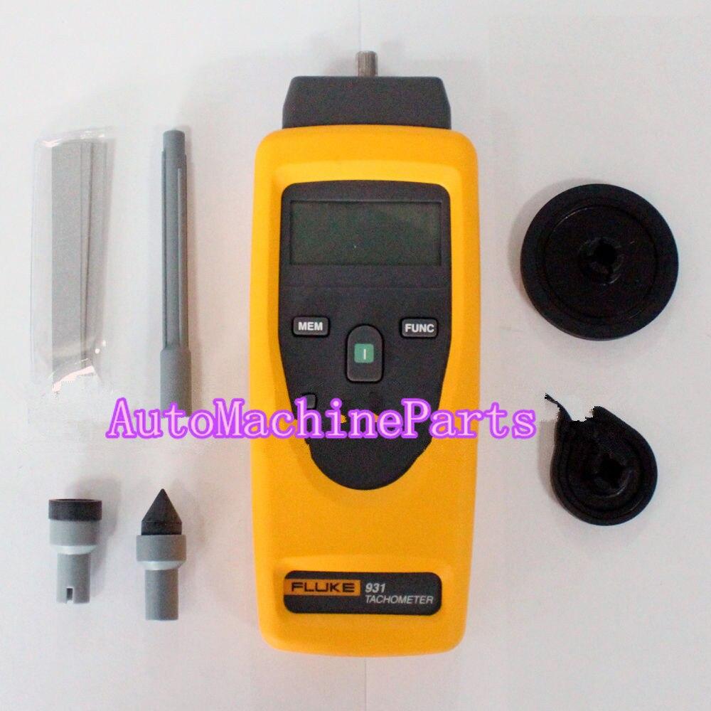 New For FLUKE 931 Tachometer Non-Contact Measurement Tester MeterNew For FLUKE 931 Tachometer Non-Contact Measurement Tester Meter