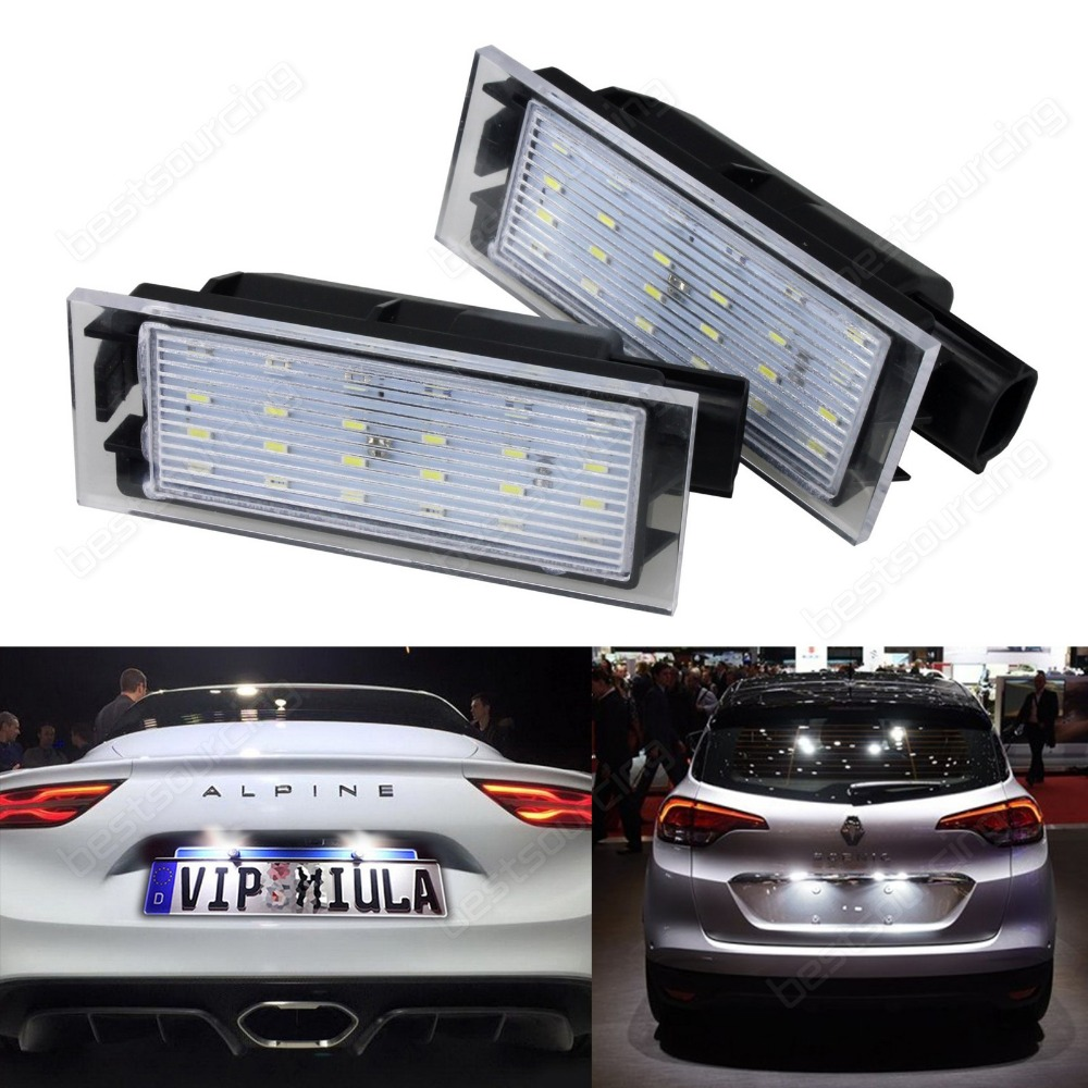Renault LED Licence Number Plate Light Kit White Clio Laguna Megane Twingo Wind Renault Master (CA235) formaldehyde testing pollution monitoring gas leak detector