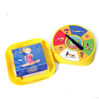 Funny Yoga Game Spinner Of Flexibility And Balance Family Educational Toy Party Game With 54pcs Yoga