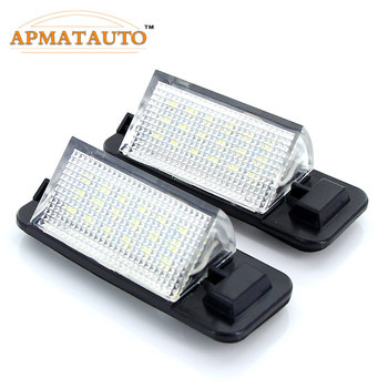 2X Car Led license Plate Light lamp For 92-98 BMW 3-series E36 (318i, 318is, 318ti, 320i, 323i, 325i, 325is, 328i, 328is, M3) image