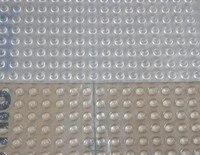 Free Shipping 300pcs Lot 3M SJ5302 Bumpon Clear Rubber Dots 7 9mmx2 2mm Hemisphere
