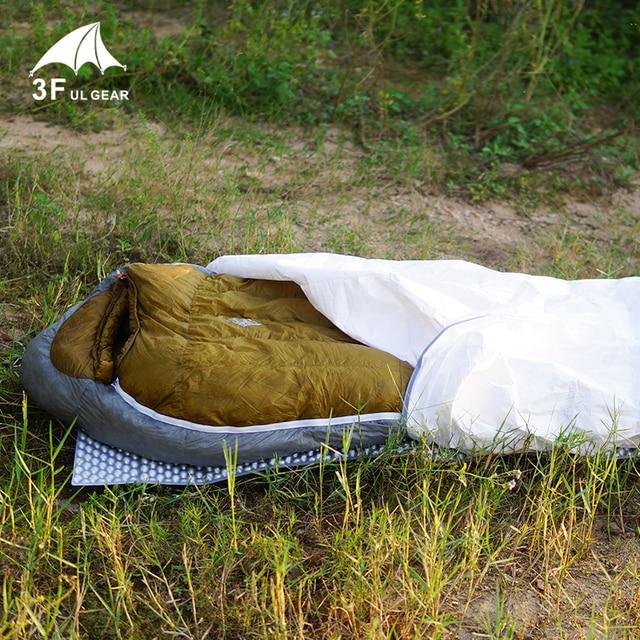 3f ul gear Tyvek sleeping bag cover liner waterproof Bivy Bag 1