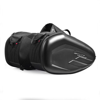 High Quality Motorcycle Waterproof Racing Race Moto Helmet Travel Bags Suitcase Saddlebags Travel Large Capacity Tail Package