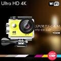 """EKEN Ultra HD 4 K H9SE/H9/H9R wifi cámara de la acción 2.0 """"170D lente Cámara de Casco Se Divierte La Cámara 1080 p 60fps acción Cam vs go pro cámara"""