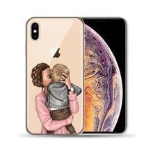 Etui iPhone Mama z dziećmi