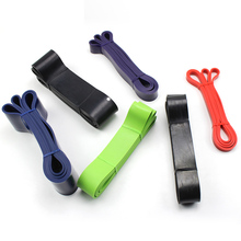 2080mm Yoga Fitness Pull Rope Rubber Loop Crossfit Resistance Bands Muscle Power Training Strength Gym Workout Pilates Equipment цены