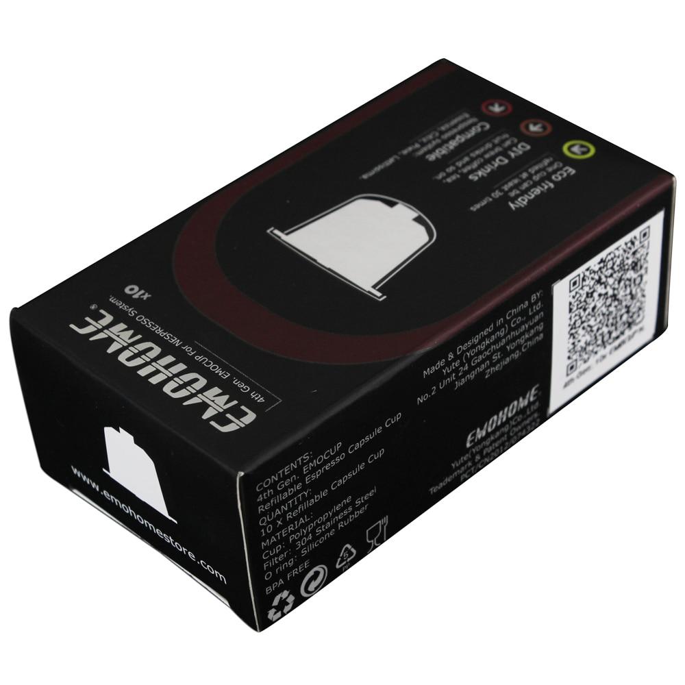 EM-04T Espresso kapsula za višekratnu uporabu Kapsula za ponovno - Kuhinja, blagovaonica i bar - Foto 4