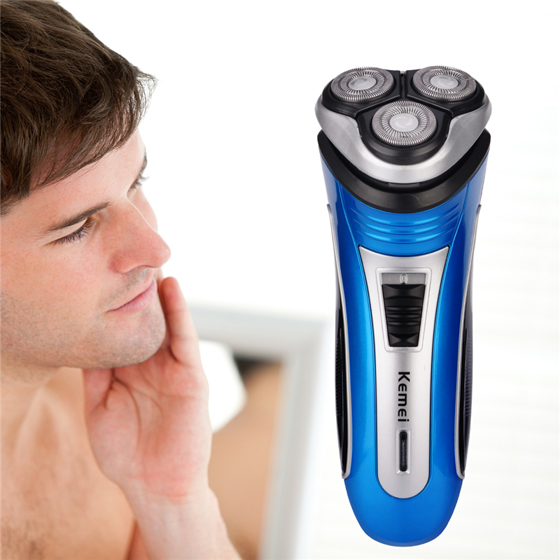 Electric Rechargeable Shaver Men Razor Triple Blade Barber Shaving Wool Razors For Men Face Care 3D Floating Hair Beard Trimmer цена