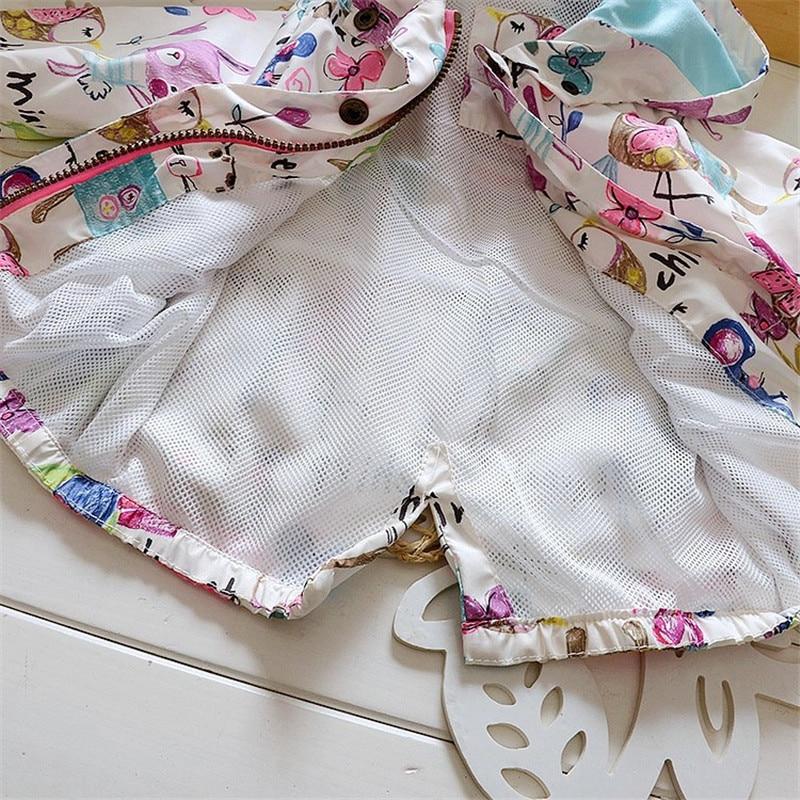 Spring 2018 New Cotton Baby Girls Coat Spend Three Flowers Lollipops Dot Jacket Cardigan Kids Children Clothing Autumn 6