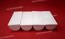 99.5% Al2O3 półkole o wysokiej czystości i termiczny kwadratowy tygiel korundowy/ceramika na bazie tlenku glinu