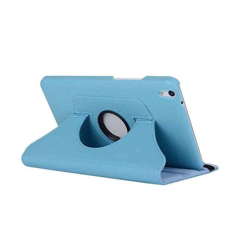 Tablet Case 360 Rotating Bracket Flip Stand Leather Cover For Huawei Media Pad T1 10 T1-A21W T1-A21L T1-A23L 9.6