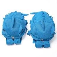 D Solid Monster Backpack 3 Color Shark School Bag For Boys Girls Backstab Student Satchel Bag Popular