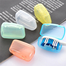 25Pcs/Lot Portable Toothbrush Cover Holder Travel Hiking Camping Brush Cap Case