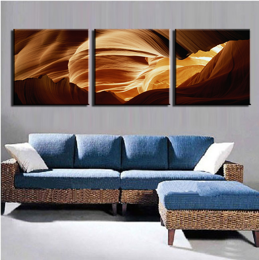 Modern Oil Painting Printed Picture 3 Panels Abstract Wall Art Decoration For Home Free Shipping No Frame On Sale