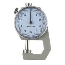 Высококачественные инструменты для кожевенного ремесла, толщиномер, тестер, измерительный инструмент для кожевенного ремесла, точность 0,1 мм, ручной работы, инструменты для кожевенного ремесла