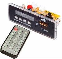 New 4.2 Bluetooth audio receiver MP3 decoder board amplifier audio conversion board U disk card MP3 decoder support FM