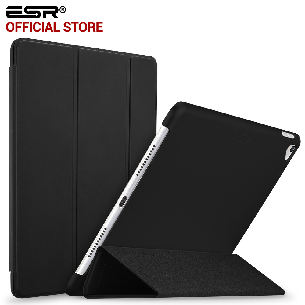 Case for iPad Pro 9.7 inch, ESR Smart Cover Case Trifold Stand and Magnetic Auto Wake Sleep Case for 2016 Release iPad Pro 9.7 case for ipad pro 12 9 inch esr pu leather tri fold stand smart cover case with translucent back for ipad pro 12 9 2015 release