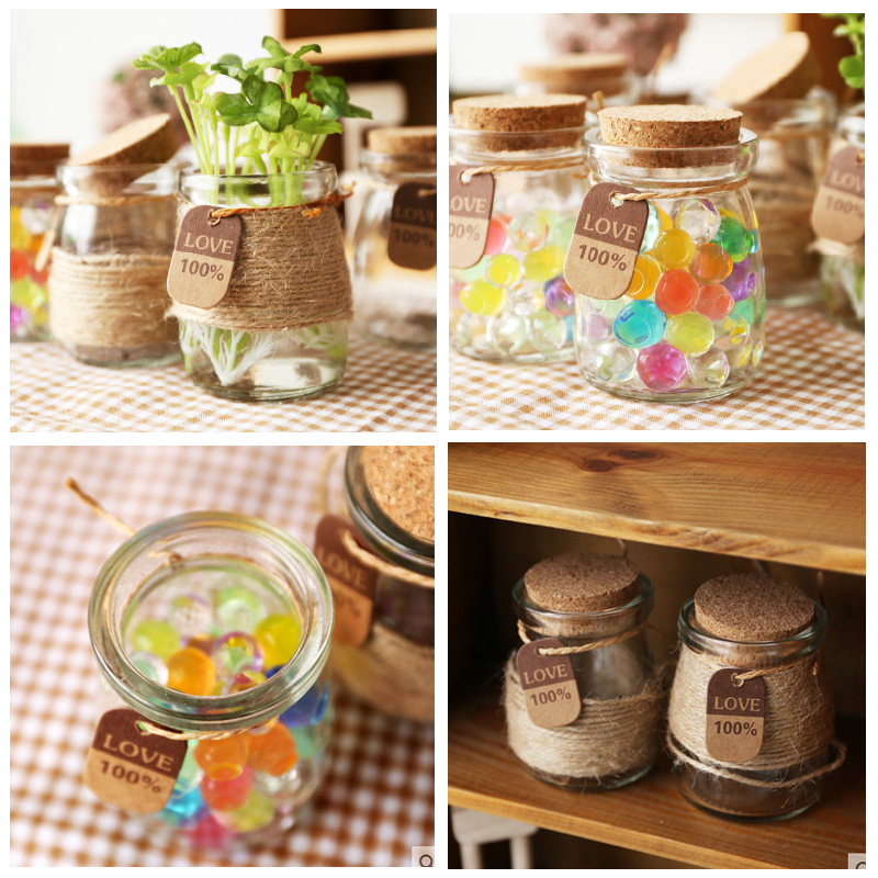 Popular small jar crafts buy cheap small jar crafts lots for Diy crafts with glass jars and bottles