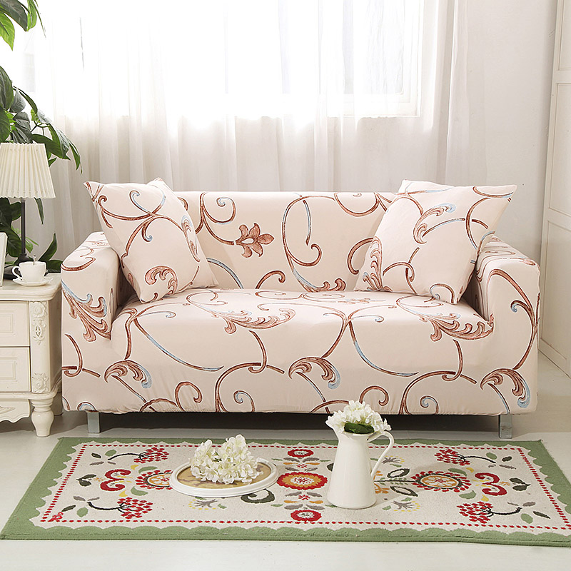 Sofa-slipcovers Tight Wrap All-inclusive Slip-resistant Elastic Cubre Sofa Towel Corner Sofa Cover Couch Cover 1/2/3/4-seater