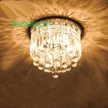 Do montażu podtynkowego oświetlenie kryształowe nowoczesne oświetlenie sufitowe dla dzieci pokój luksusowe kryształ lampa sufitowa sypialnia led kryształowe lampy sufitowe