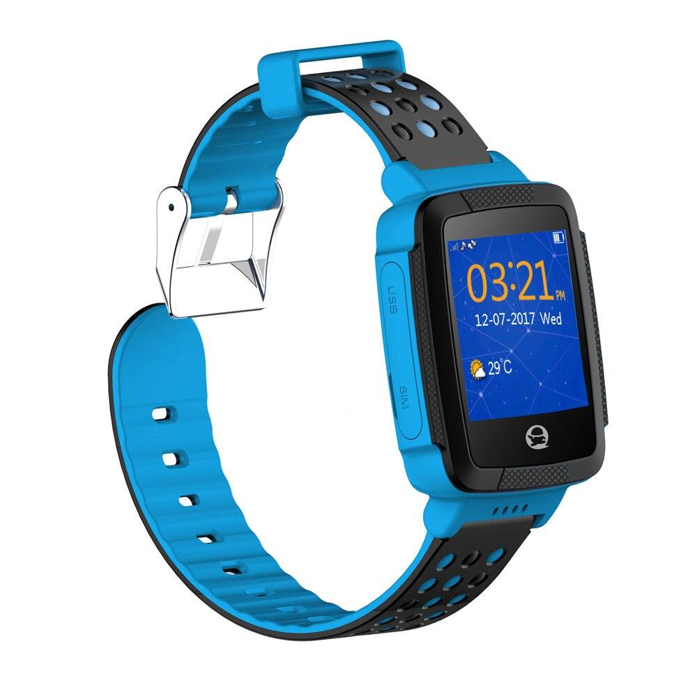 Tencent QQ Inteligente Relógio Crianças dos miúdos Relógio Smartwatch GPS LBS Anti perdeu Alarme SIM para IOS Android 2G GSM C002 Tela Sensível Ao Toque