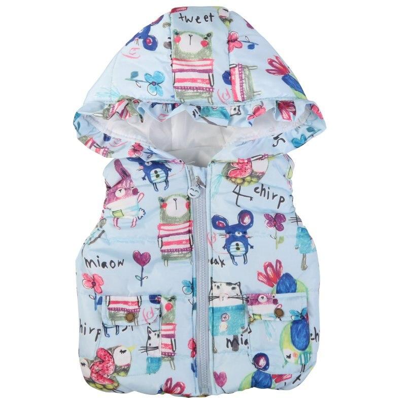 Hot Sales Winter Children Clothing Coats Baby Girl Animal