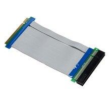 Heißer verkauf 32 Bit Flexible PCI Riser Card Extender Flex Verlängerung Band Kabel C0608 Geschenke Großhandel