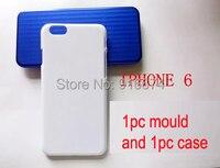 Darmowa wysyłka 1 pc Aluminium formy + 1 pc puste iphone6 przypadku iphone6 dla 3D sublimacji naciśnij ciepła