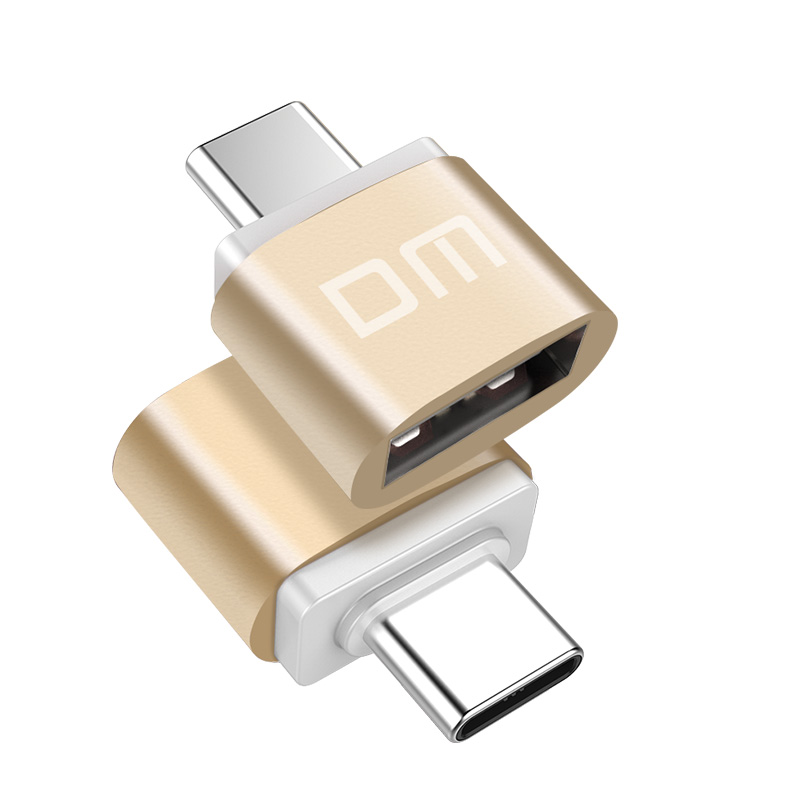 DM  USB C Adapter Type C to USB 3.0 Adapter Thunderbolt 3 Type C Adapter OTG Cable For Macbook pro Air Samsung S10 S9 USB OTG-in Memory Card Adapters from Computer & Office