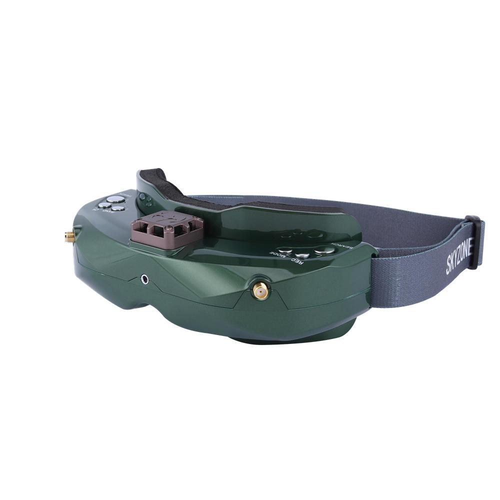 SKYZONE SKY02X 5.8Ghz 48CH Diversità FPV Occhiali Supporto 2D/3D HDMI Testa di Monitoraggio Con Il Ventilatore DVR Fotocamera Frontale per Da Corsa del RC Drone - 3