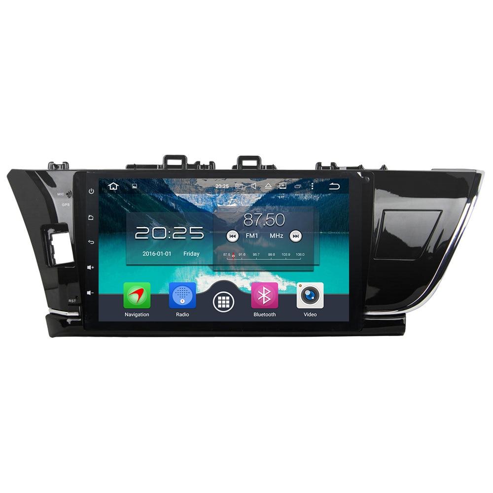 Android 6 0 1 Octa Core 4GB RAM 32GB 2Din HD Car MP3 Player BT Radio