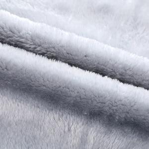 Image 5 - 冬男性セットカジュアル暖かい厚手のフード付きジャケット + パンツ 2 pcセット男性インナーフリースパーカージッパートラックスーツ男性スポーツスーツ生き抜く