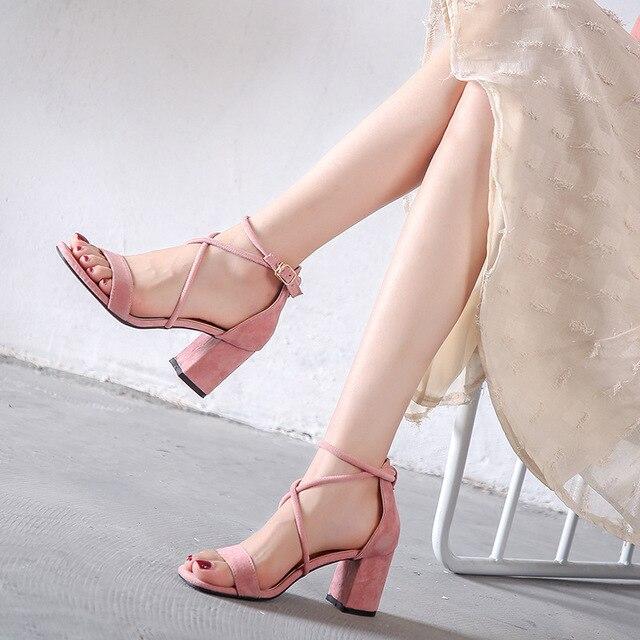 7cm Señoras de Sandalias 5cm Tacones 5cm 7cm Moda Negro Bombas Cuadrado Correa Verano De Las 7cm Tacón 5cm N683 Fiesta Mujeres Zapatos Yq6Y1wr
