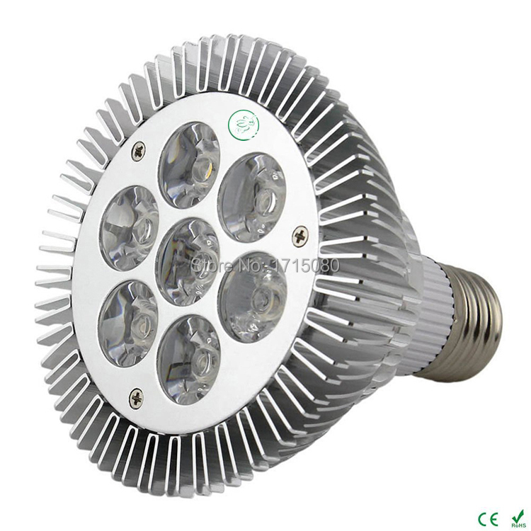 Super Bright <font><b>PAR30</b></font> LED Spotlight 14W <font><b>E27</b></font> 85-265V Natural White LED Light PAR 30 Bulb Lamp For Home lighting free shipping image