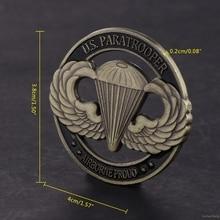 Значительная памятная монета Американский десантник США полые художественные подарки для коллекции сувенирная неточная монета