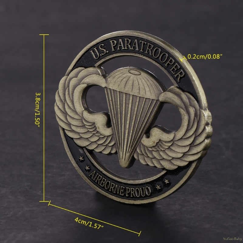 2018 Meaningful Commemorative Coin American Paratrooper US Hollow Collection Arts Gifts Souvenir Noncurrent Coin