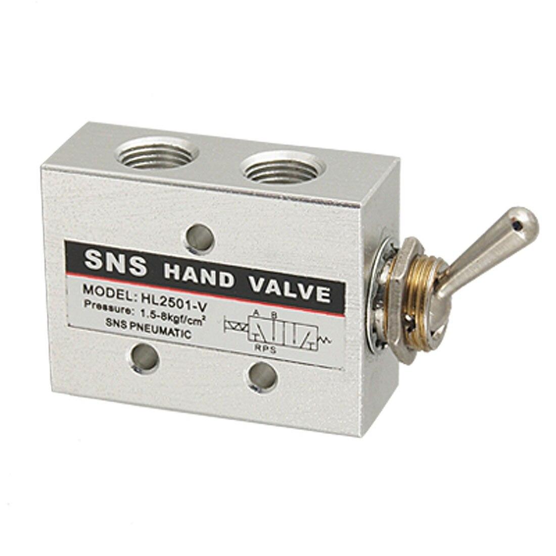 HL2501-V Carbon Steel Pneumatic Toggle Knob Switch Valve cd 2501 в харькове