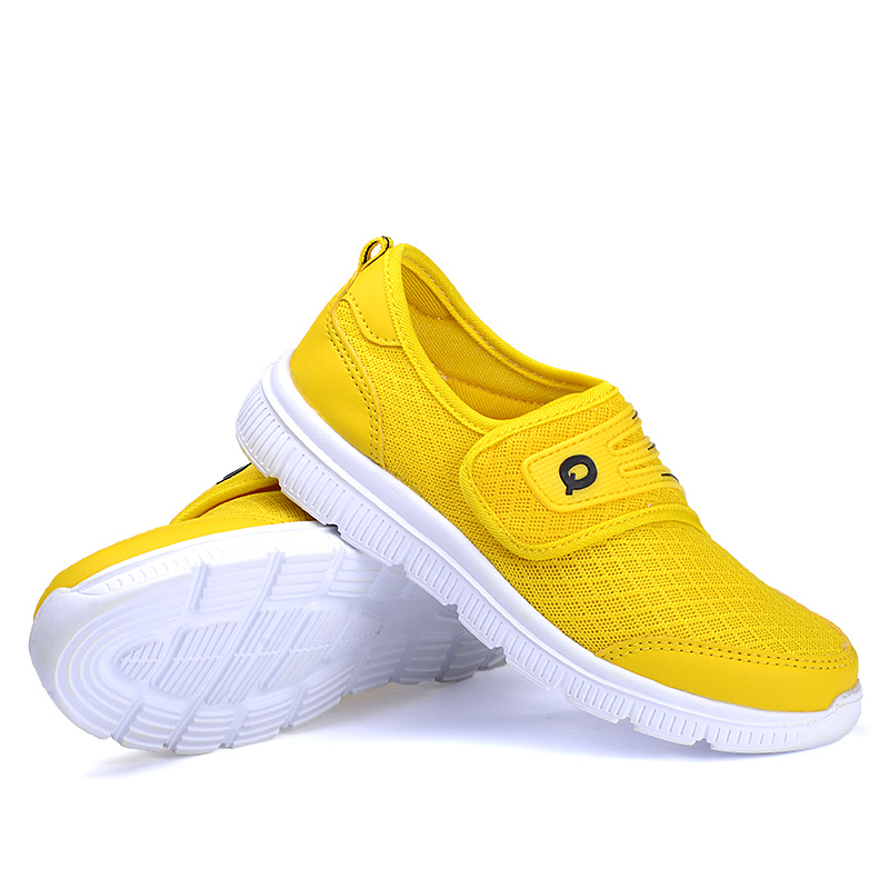 New 2016 fashion leisure relaxed and comfortable breathable lightweight male and female children children shoes Net cloth shoes