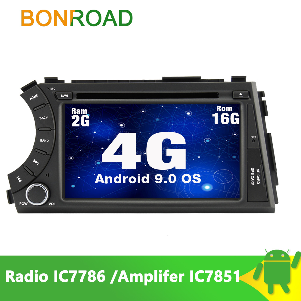 Bonroad Multimedia-Player Ssangyong Wifi Radio Touch-Screen 2-Din Car Actyon MP3